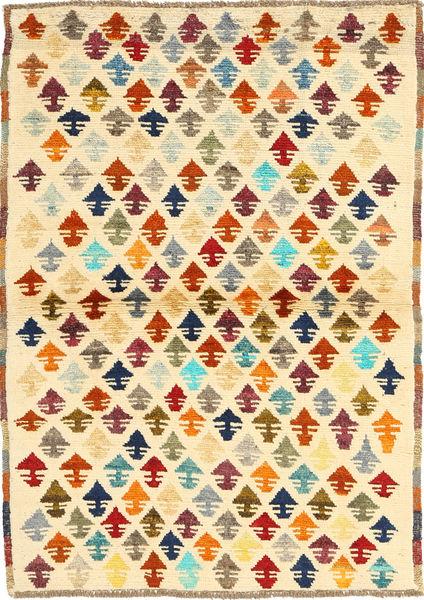 Ziegler モダン 絨毯 99X133 モダン 手織り ベージュ/薄茶色 (ウール, アフガニスタン)