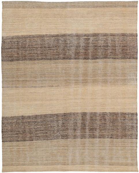 Kelim Moderni Matto 138X182 Moderni Käsinkudottu Vaaleanruskea (Villa, Afganistan)