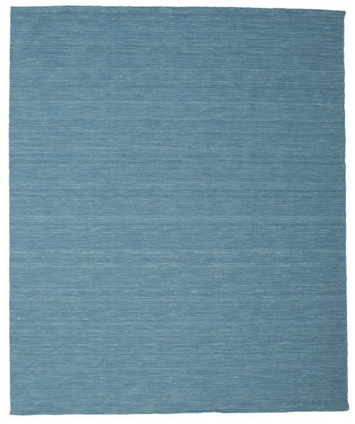 Kilim Loom - Kék Szőnyeg 250X300 Modern Kézi Szövésű Türkiz Kék/Kék Nagy (Gyapjú, India)