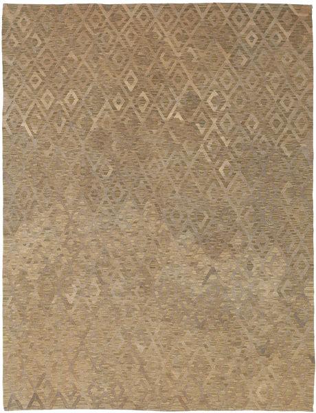 Kelim Moderni Matto 179X232 Moderni Käsinkudottu Vaaleanruskea (Villa, Afganistan)