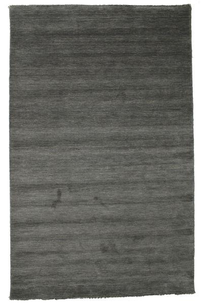 Handloom fringes - Mørk grå teppe CVD14024