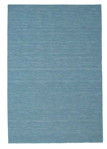 Kilim loom - Blue carpet CVD9055