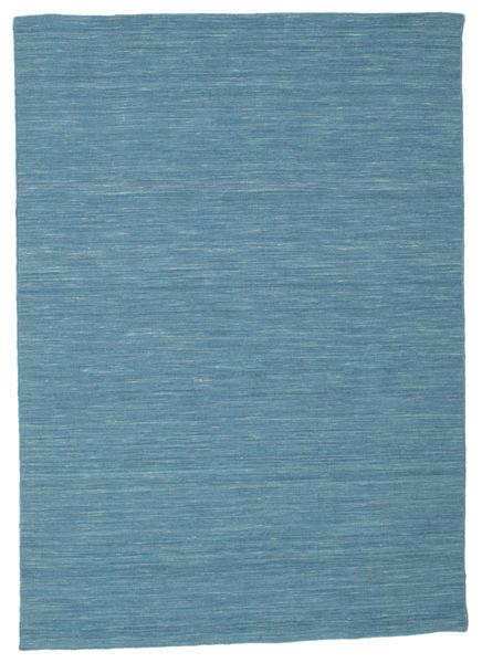 Dywan Kilim loom - Niebieski CVD9066