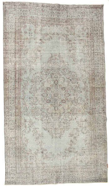 Colored Vintage Rug 174X307 Authentic  Modern Handknotted Light Grey/Light Brown (Wool, Turkey)