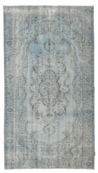 Colored Vintage Rug 161X292 Authentic  Modern Handknotted Light Grey/Dark Grey (Wool, Turkey)