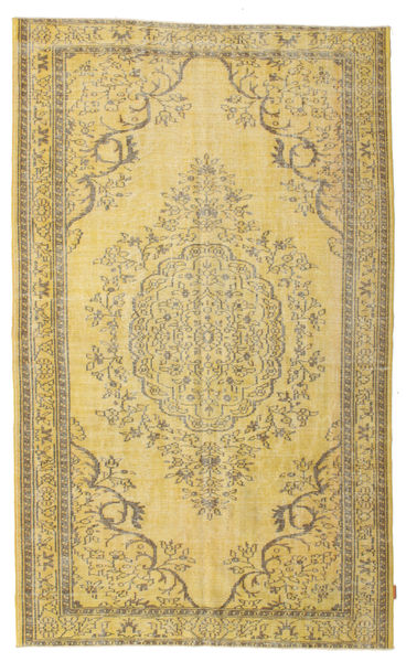 Colored Vintage Rug 175X285 Authentic  Modern Handknotted Yellow/Light Brown (Wool, Turkey)