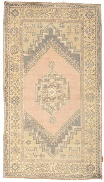 Colored Vintage Rug 119X213 Authentic  Modern Handknotted Light Brown/Dark Beige (Wool, Turkey)
