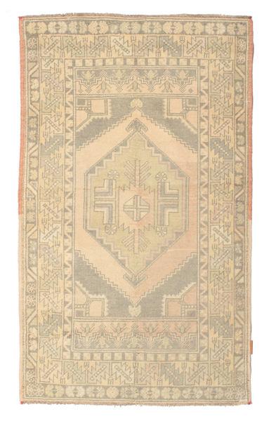 Colored Vintage Dywan 104X173 Nowoczesny Tkany Ręcznie Chodnik Beżowy/Jasnoszary (Wełna, Turcja)