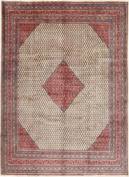 Sarough Mir Matto 280X385 Itämainen Käsinsolmittu Vaaleanharmaa/Tummanpunainen Isot (Villa, Persia/Iran)