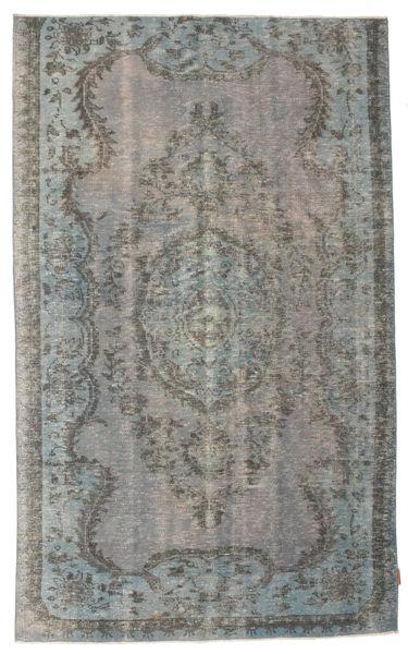 Colored Vintage Dywan 156X256 Nowoczesny Tkany Ręcznie Ciemnoszary/Jasnoszary (Wełna, Turcja)