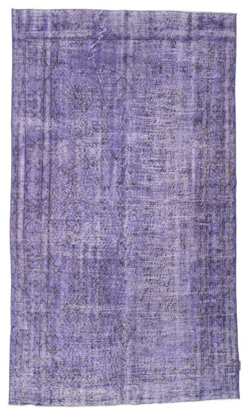 Colored Vintage Rug 156X271 Authentic  Modern Handknotted Light Purple/Purple (Wool, Turkey)