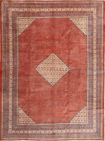 Sarough Mir Matta 300X412 Äkta Orientalisk Handknuten Roströd/Mörkröd Stor (Ull, Persien/Iran)