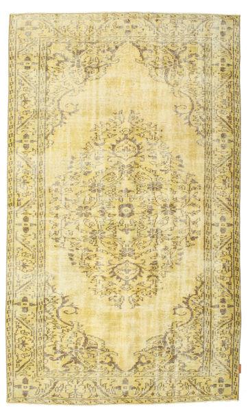 Colored Vintage Dywan 158X268 Nowoczesny Tkany Ręcznie Ciemnobeżowy/Beżowy (Wełna, Turcja)