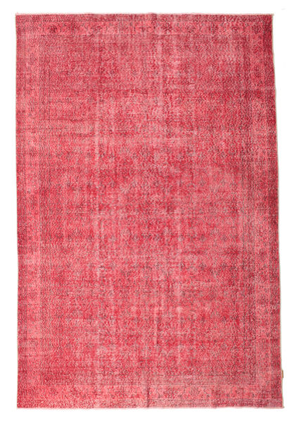 Colored Vintage Rug 207X310 Authentic  Modern Handknotted Pink/Rust Red (Wool, Turkey)