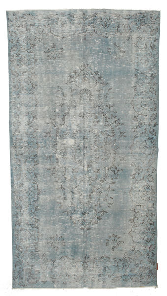 Colored Vintage Rug 146X263 Authentic  Modern Handknotted Light Grey/Light Blue (Wool, Turkey)