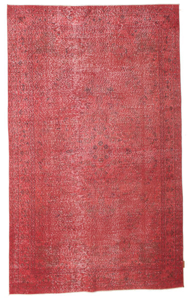 Colored Vintage Rug 162X263 Authentic  Modern Handknotted Rust Red/Pink (Wool, Turkey)
