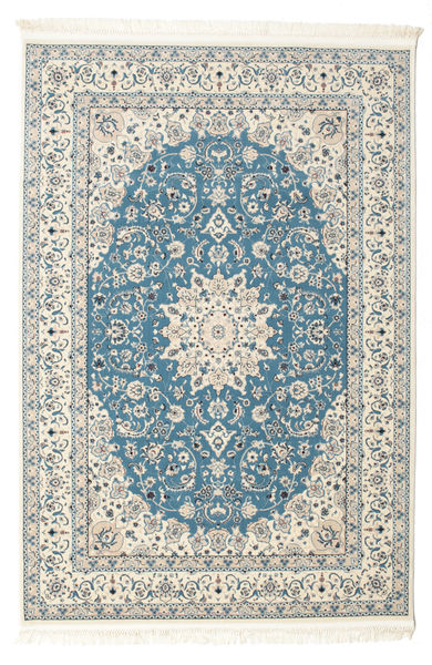 Nain Emilia - Ανοικτό Μπλε Χαλι 160X230 Ανατολής Μπεζ/Ανοιχτό Γκρι ( Τουρκικά)