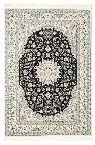 Nain Emilia - Dark Blue Rug 160X230 Oriental Beige/Dark Grey ( Turkey)