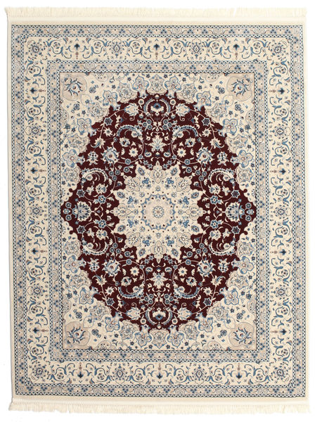 Nain Emilia - Mörkröd Matta 200X250 Orientalisk Ljusgrå/Beige ( Turkiet)