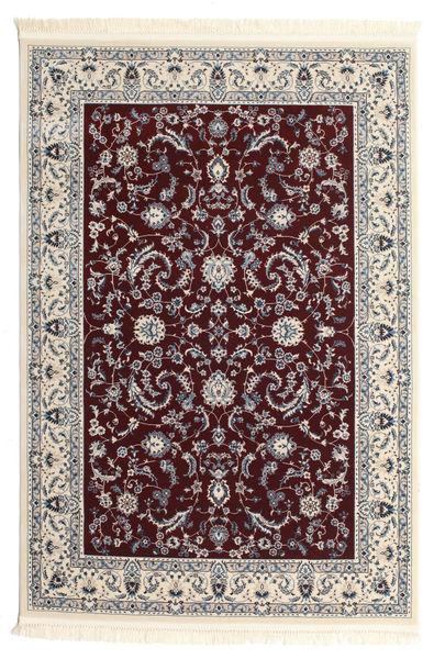 Nain Florentine - Dunkel Rot Teppich  200X300 Orientalischer Hellgrau/Dunkelrot ( Türkei)
