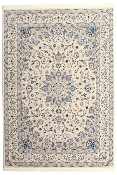Nain Emilia - Cream/Ljus Blå Matta 250X350 Orientalisk Beige/Ljusgrå Stor ( Turkiet)