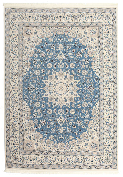 Nain Emilia - Light Blue Rug 300X400 Oriental Beige/Light Grey Large ( Turkey)