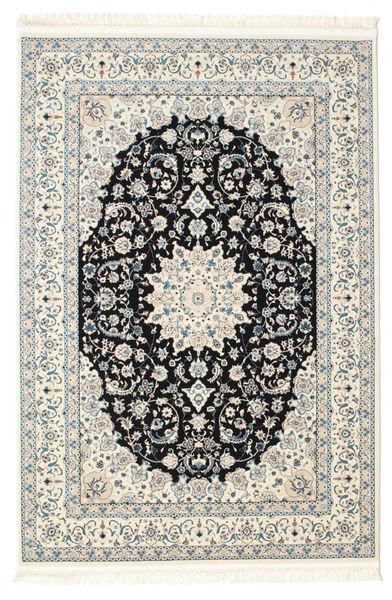 Nain Emilia - Mørk Blå Teppe 140X200 Orientalsk Beige/Mørk Grå ( Tyrkia)