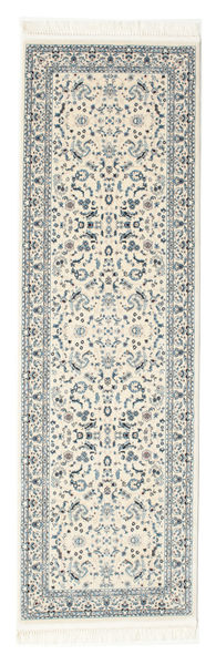 Nain Florentine - Cream Rug 80X300 Oriental Hallway Runner  Beige/Light Grey ( Turkey)