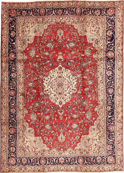 Hamadan Shahrbaf Dywan 220X315 Orientalny Tkany Ręcznie Ciemnoczerwony/Ciemnobrązowy (Wełna, Persja/Iran)