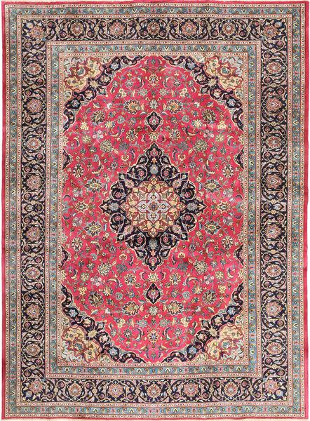 Kashmar Matta 248X340 Äkta Orientalisk Handknuten Roströd/Mörkbrun (Ull, Persien/Iran)