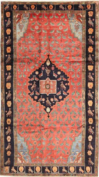 Koliai Vloerkleed 173X310 Echt Oosters Handgeknoopt Lichtbruin/Donkerblauw (Wol, Perzië/Iran)