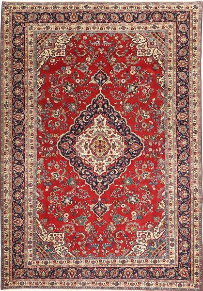 Hamadan Patina Rug 205X305 Authentic  Oriental Handknotted Dark Red/Dark Brown (Wool, Persia/Iran)