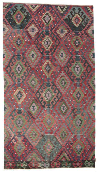 Kilim semi antique Turkish carpet XCGZK586