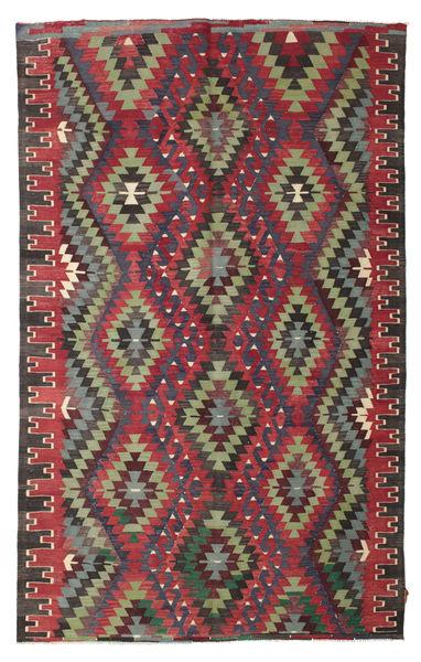 Kilim Semi-Antique Turquie Tapis 180X288 D'orient Tissé À La Main Noir/Rouge (Laine, Turquie)