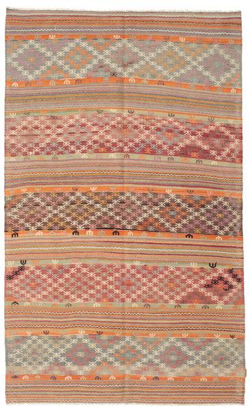 Tapis Kilim semi-antique Turquie XCGZK66