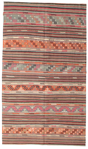 Kilim Semi Antique Turkish Rug 166X286 Authentic  Oriental Handwoven Light Brown/Purple (Wool, Turkey)