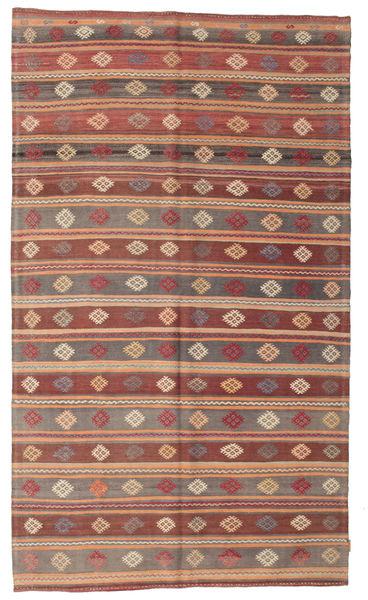 Kelim Semiantiikki Turkki Matto 178X301 Itämainen Käsinkudottu Vaaleanruskea/Ruskea (Villa, Turkki)