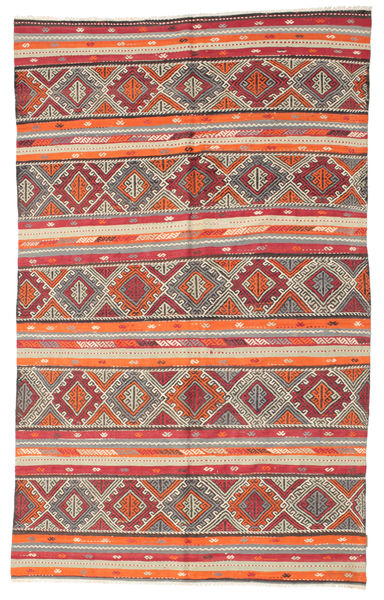 Kilim Semi Antique Turkish Rug 182X290 Authentic  Oriental Handwoven Beige/Light Brown (Wool, Turkey)