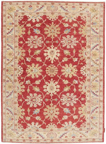 Ziegler Matto 149X209 Itämainen Käsinsolmittu Vaaleanruskea/Tummanpunainen (Villa, Pakistan)