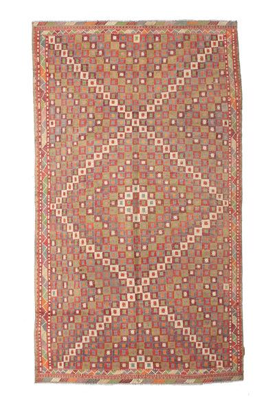 Kelim Semiantiikki Turkki Matto 167X290 Itämainen Käsinkudottu Vaaleanruskea/Ruskea (Villa, Turkki)