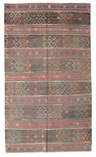 Kilim Semi Antique Turkish Rug 176X298 Authentic  Oriental Handwoven Light Brown/Dark Grey (Wool, Turkey)