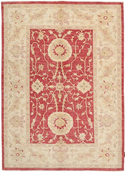 Ziegler Rug 167X239 Authentic  Oriental Handknotted Rust Red/Dark Beige/Light Brown (Wool, Pakistan)