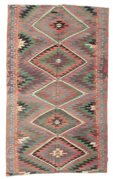 Kilim Semi Antique Turkish Rug 189X312 Authentic  Oriental Handwoven Light Brown/Light Grey (Wool, Turkey)