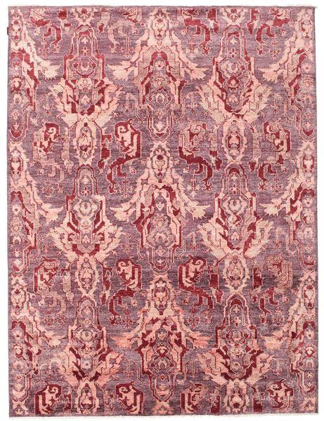 Himalaya Tappeto 236X315 Moderno Fatto A Mano Rosa Chiaro/Porpora ( India)