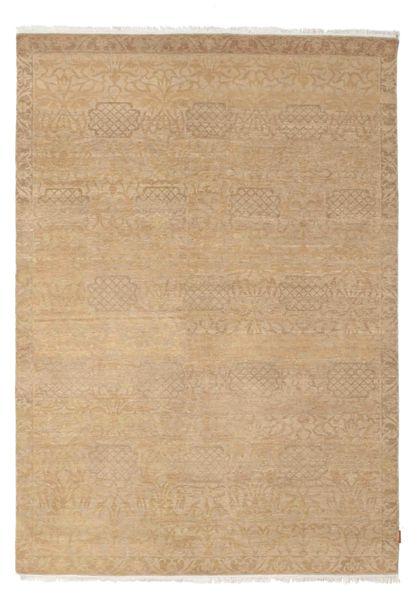 Himalaya Rug 187X265 Authentic  Modern Handknotted Light Brown/Dark Beige (Wool, India)