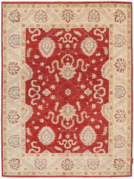 Ziegler Teppich  147X200 Echter Orientalischer Handgeknüpfter Rost/Rot/Beige (Wolle, Pakistan)