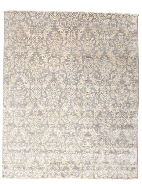 Himalaya Rug 242X297 Authentic  Modern Handknotted Light Grey/Beige ( India)