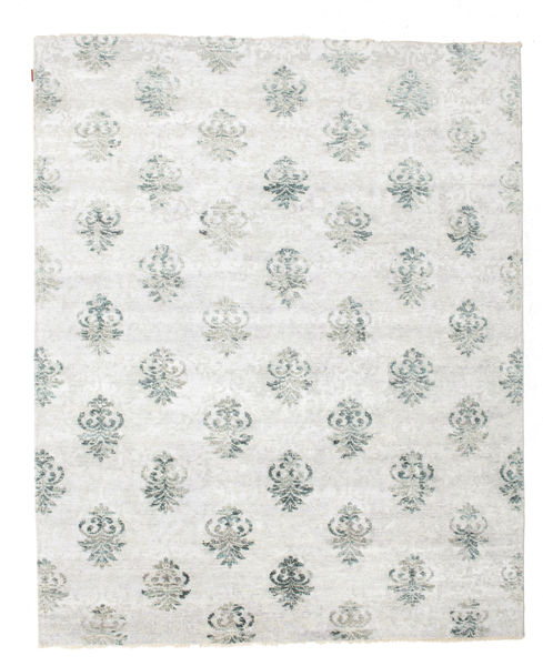 Himalaya Rug 245X301 Authentic  Modern Handknotted Light Grey/White/Creme ( India)