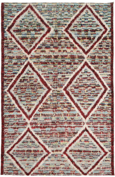 Barchi/Moroccan Berber Rug 193X300 Authentic  Modern Handknotted Light Grey/Light Brown (Wool, Afghanistan)