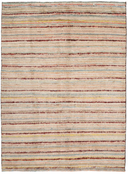 Barchi/Moroccan Berber Rug 193X276 Authentic  Modern Handknotted Light Brown/Light Pink (Wool, Afghanistan)